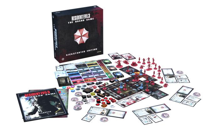 gioco da tavolo Resident Evil 3