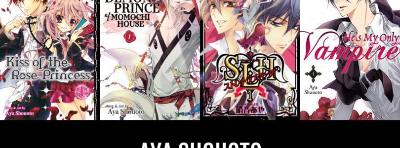 Nuovo manga per Aya Shouoto