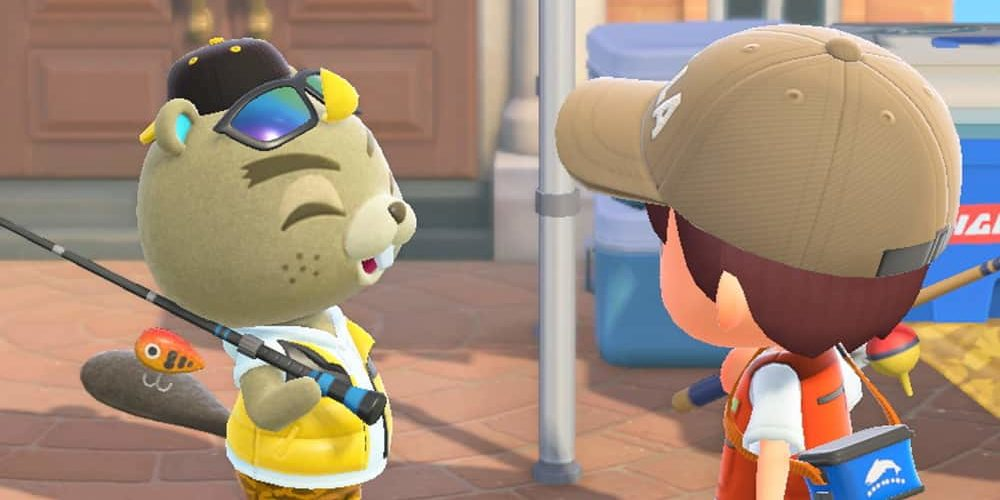 animal crossing new horizons torneo di pesca dialogo