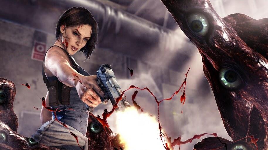 Resident Evil 3 Remake Jill valentine 4k