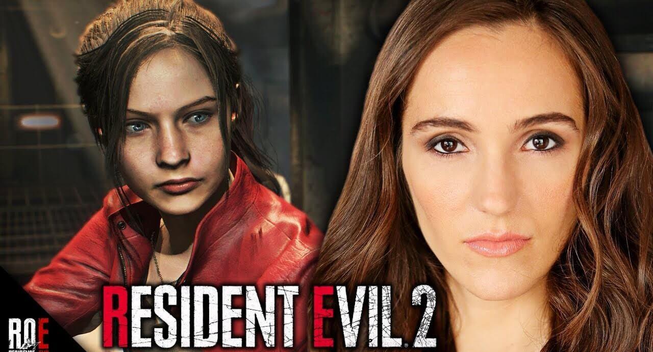 resident evil 2 attrice