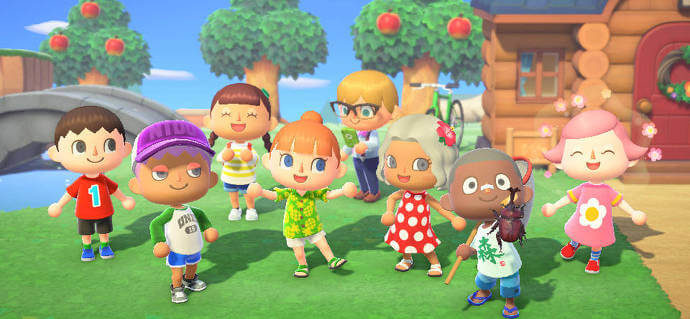 Animal Crossing erbacce