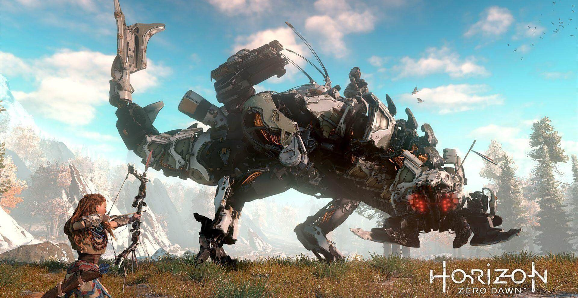 Gameplay Horizon Zero Dawn walpaper
