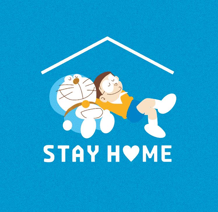 Doraemon Progetto 'Stay Home'