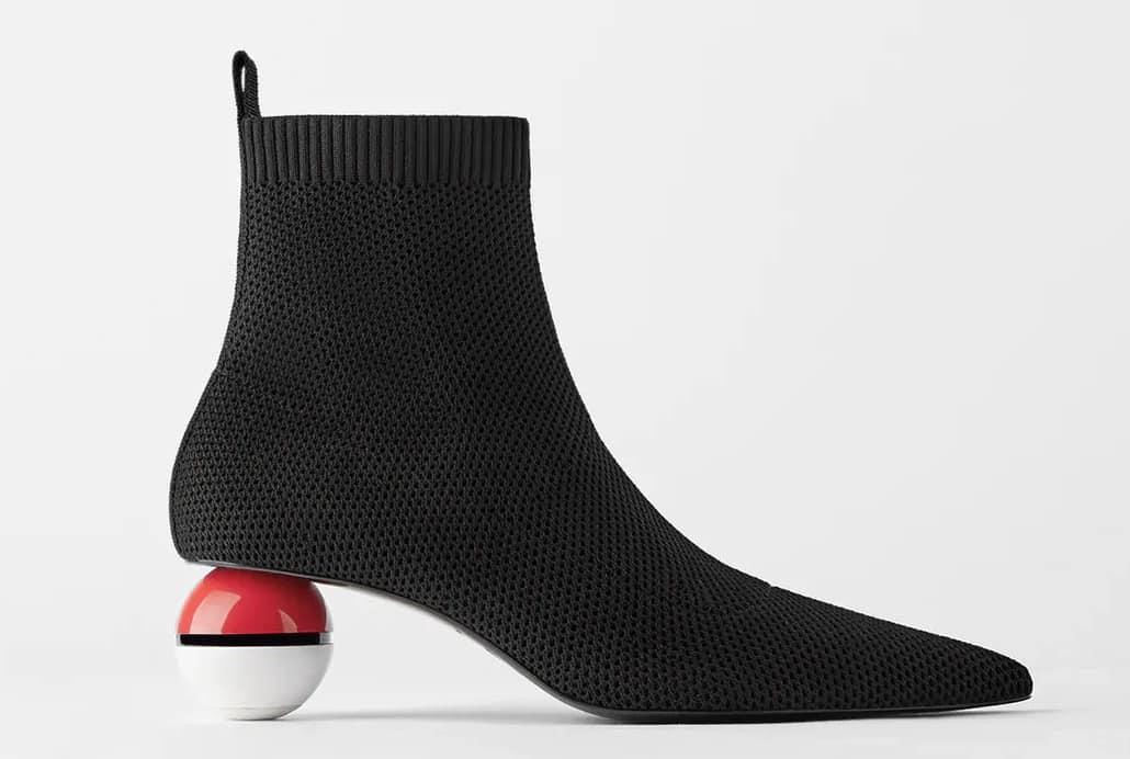 Stivali pokemon con tacco pokeball