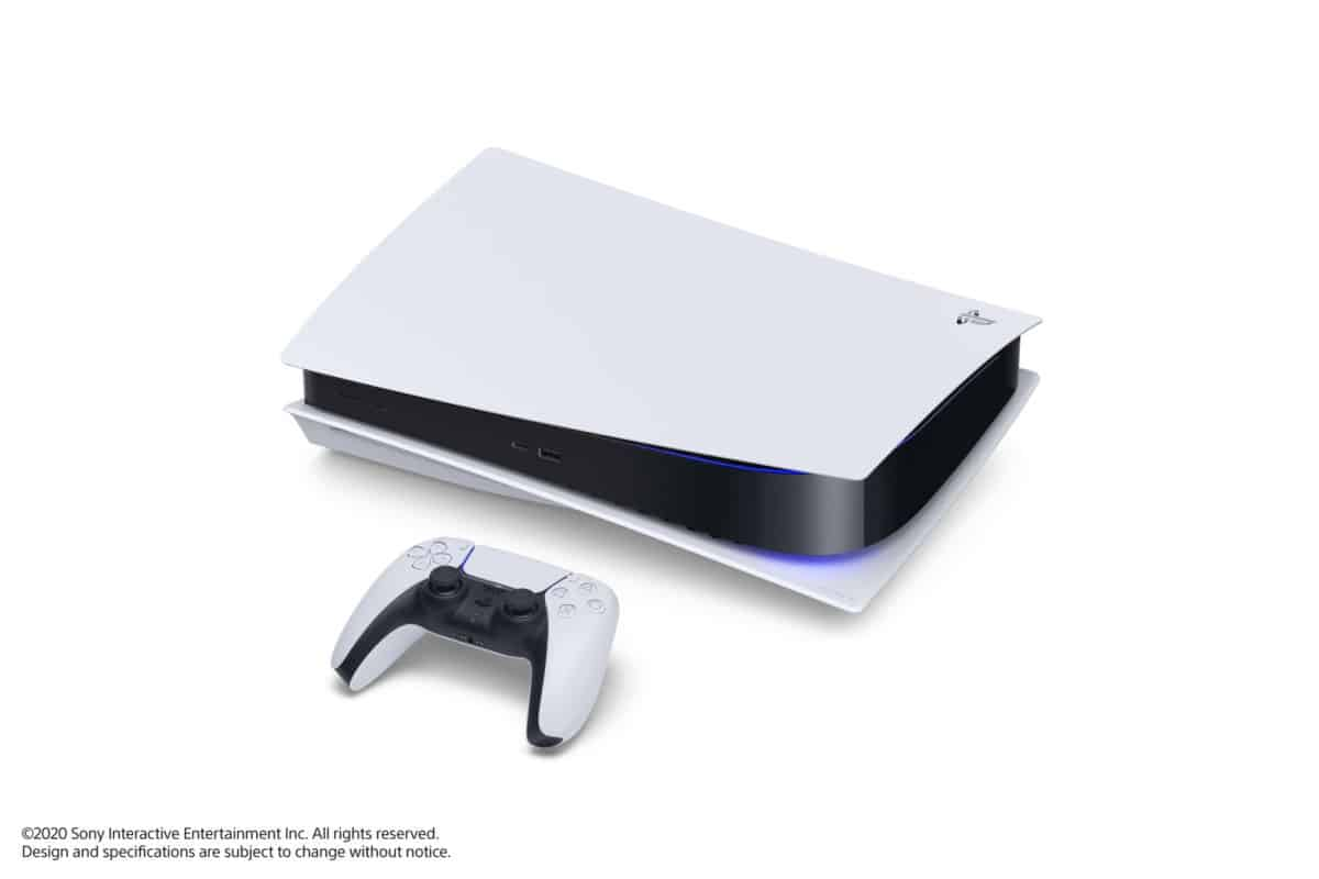 Playstation 5 in posizione orizzontale
