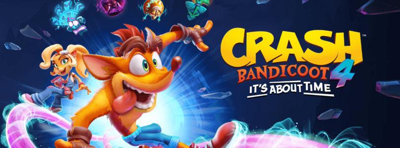 Crash bandicoot it's about time