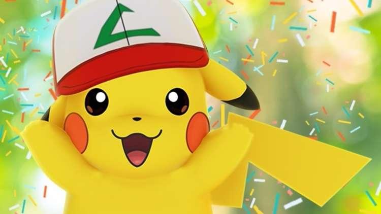 pikachu con cappello di ash