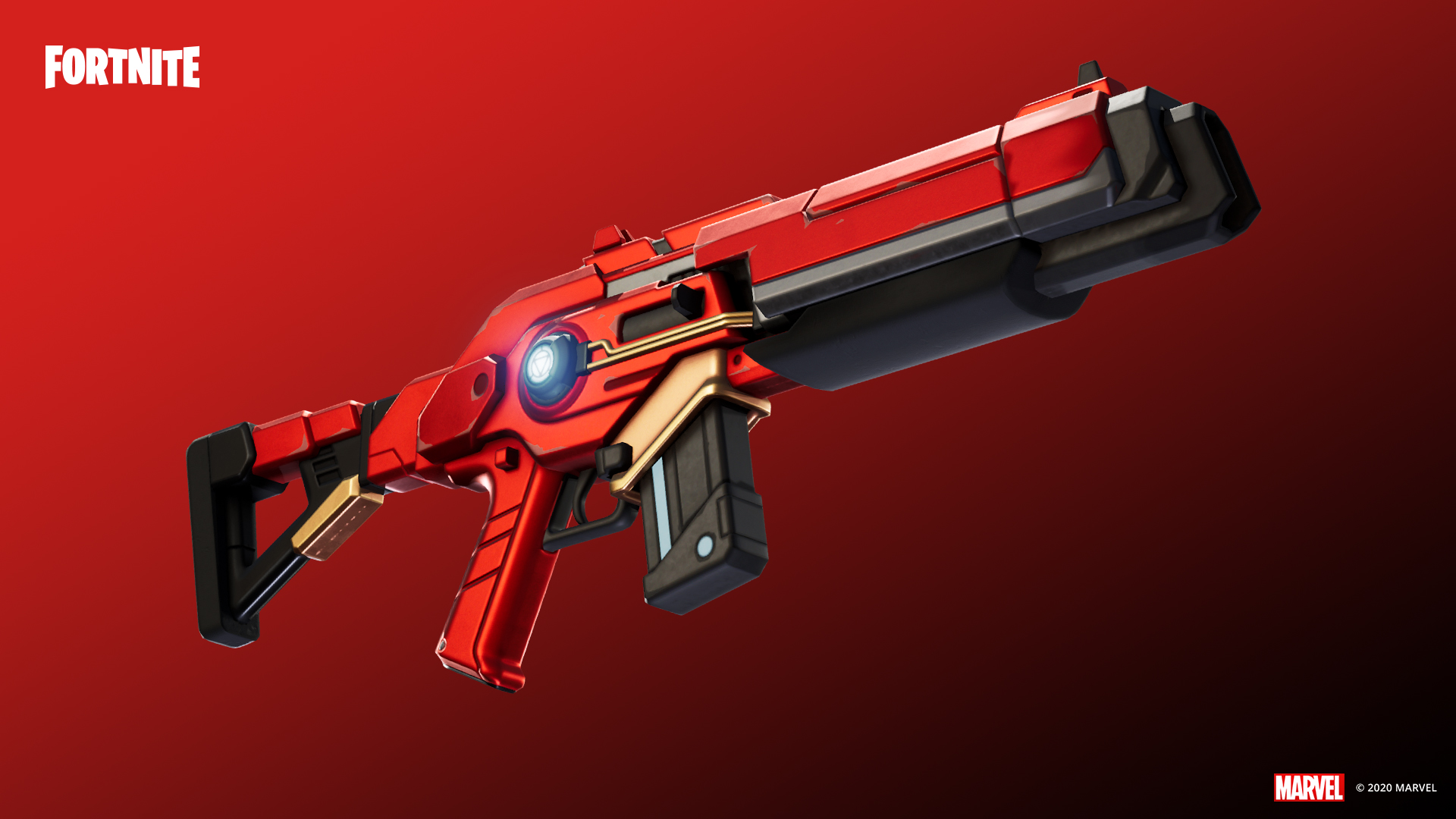 Fucile Energetico Stark Industries Fortnite