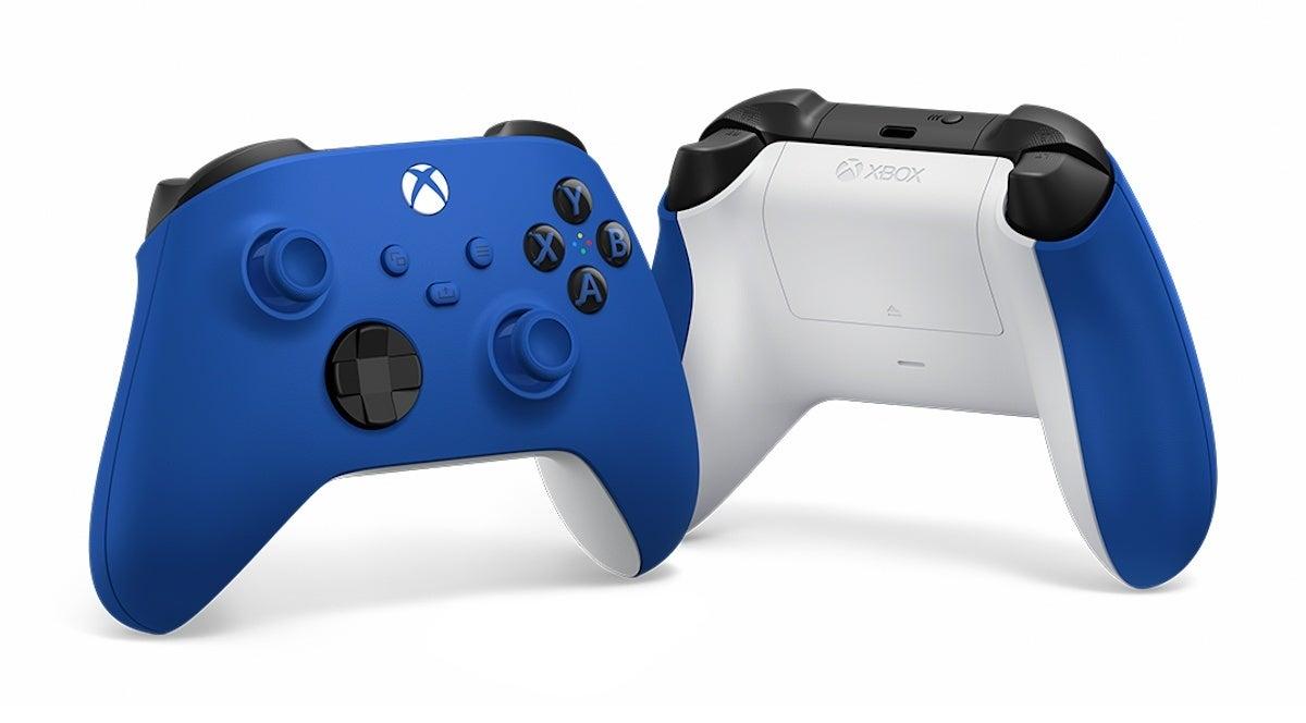 controller blue Xbox Series X