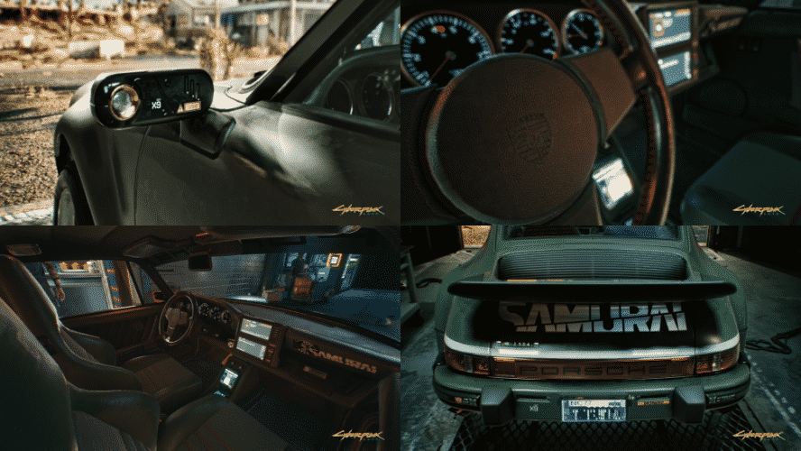 Porsche 911 Turbo interno