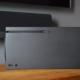 Xbox series X in posizione orizontale