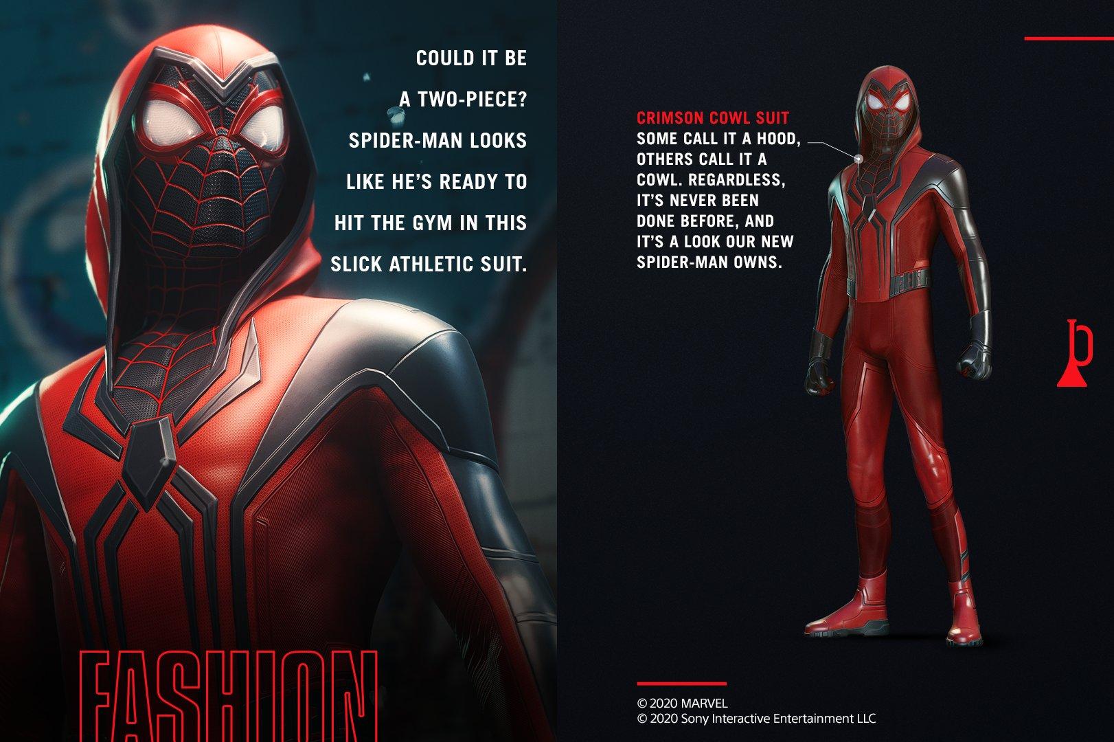 tuta marvel's spider man miles morales