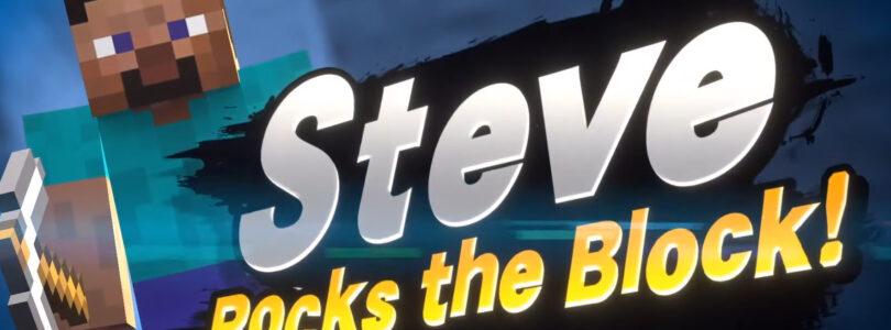 Super Smash Bros Ultimate incontra Minecraft