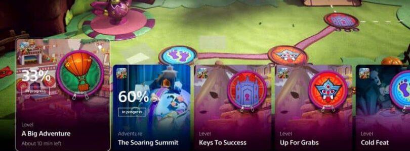 Interfaccia utente PS5