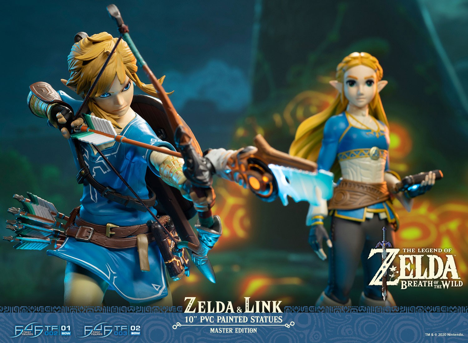 Nuove statue a tema The Legend of Zelda in pre-ordine