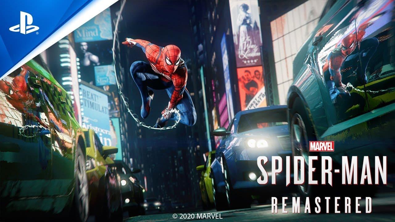 Marvel: Spiderman Remastered