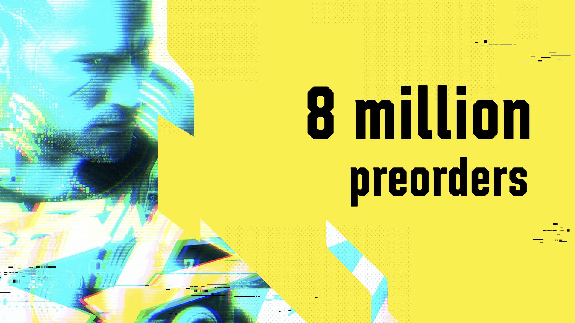 Cyberpunk 2077 è arrivato a 8 milioni di preordini
