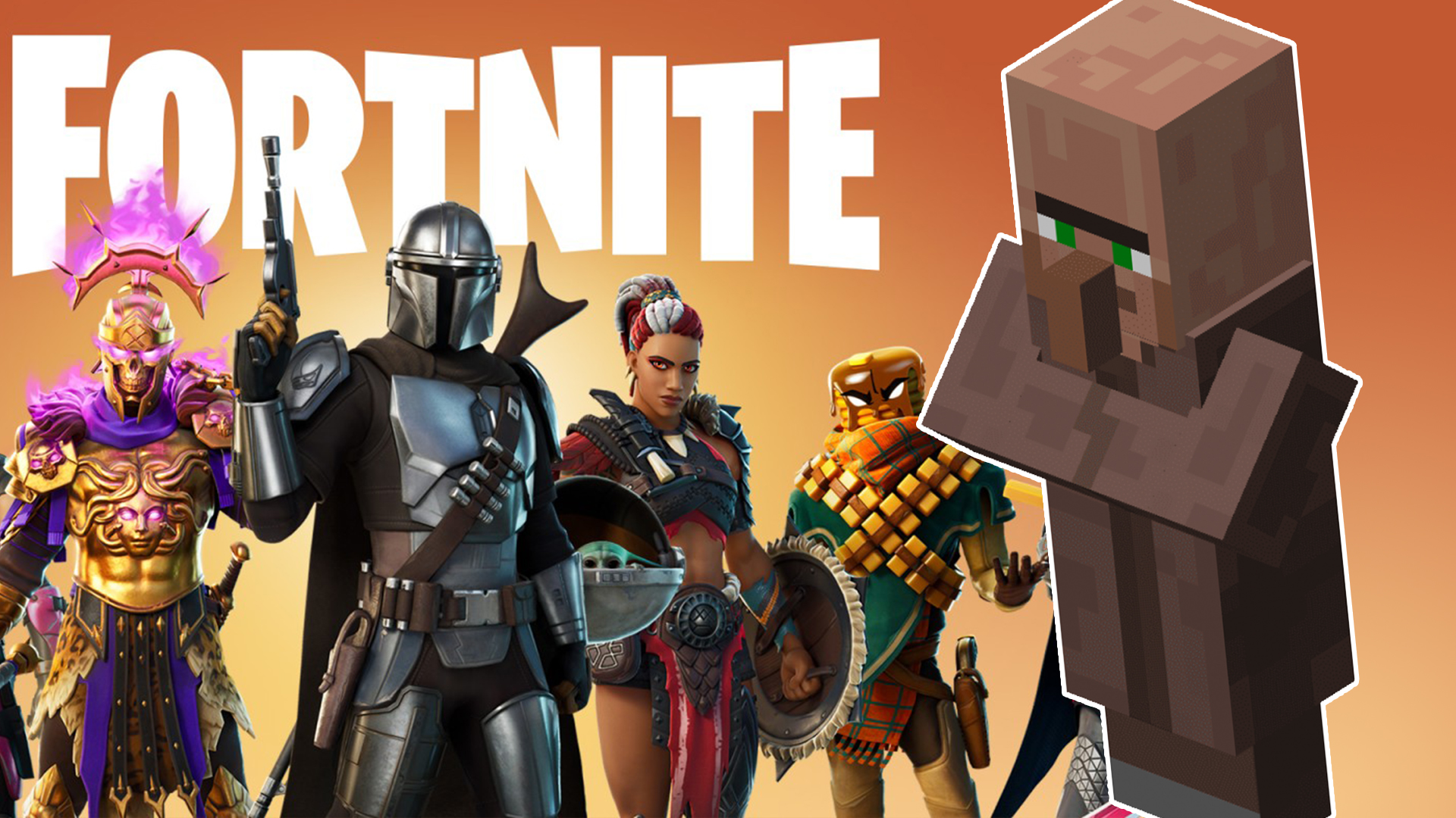 Fortnite Minecraft