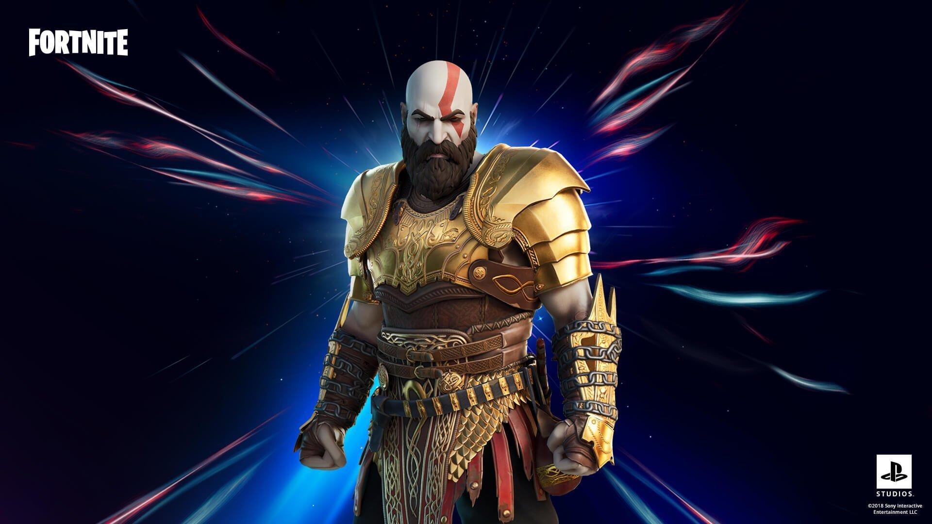 skin kratos fortnite
