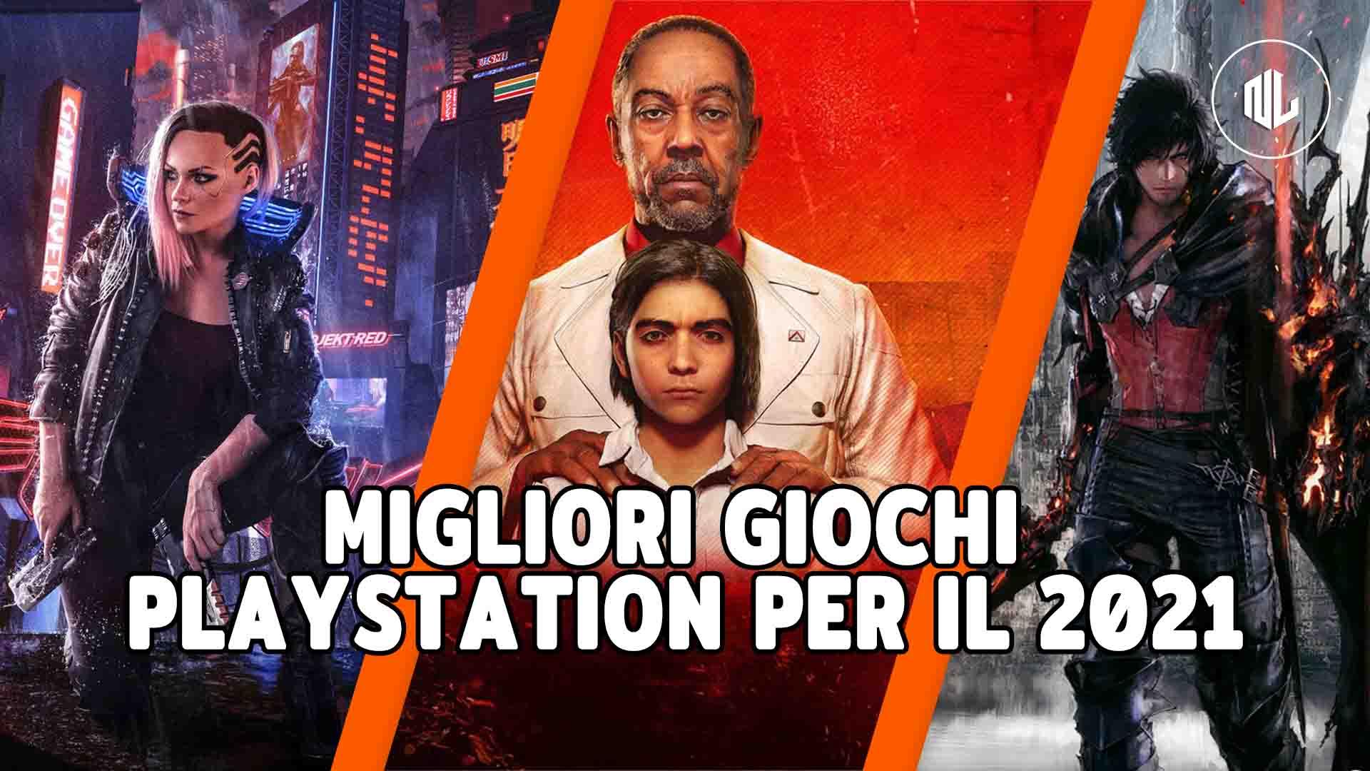 migliori giochi playstation 2021