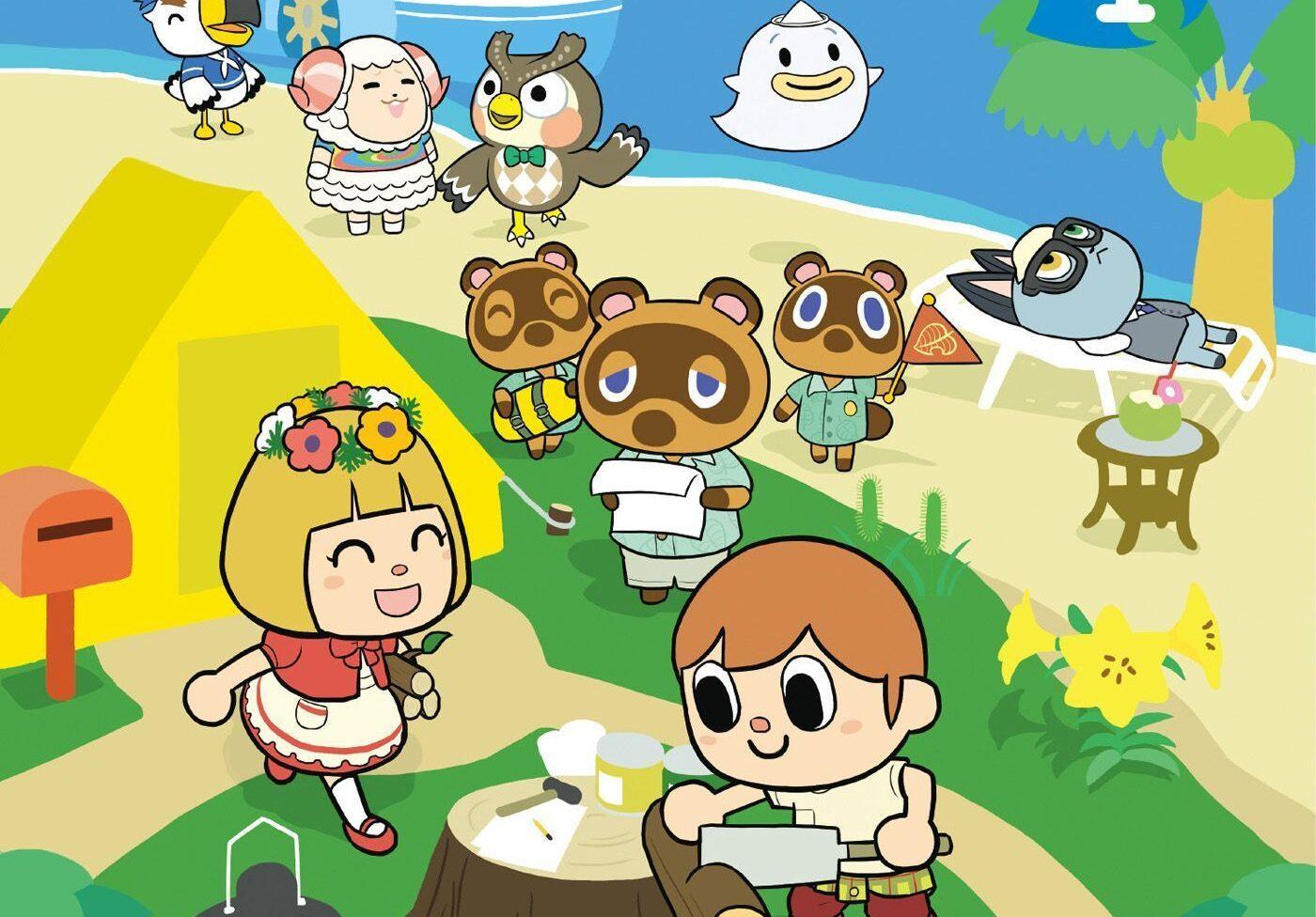 manga animal crossing new horizons