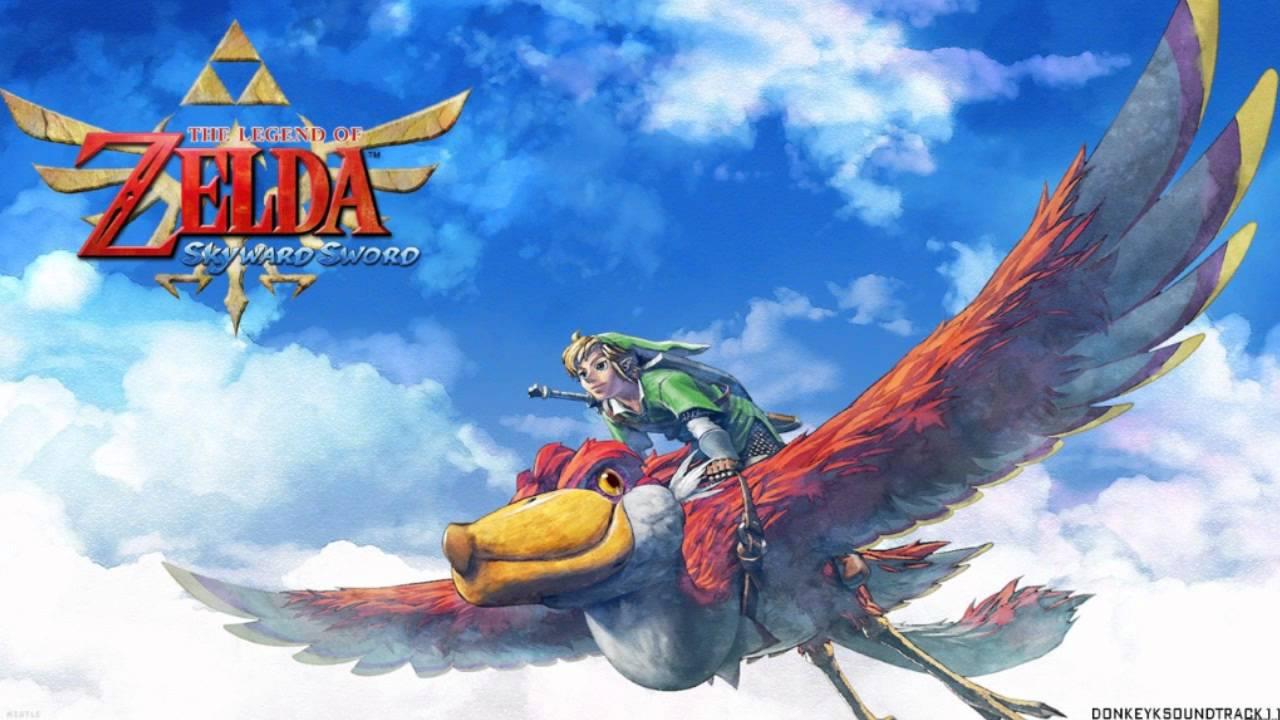 The legend of zelda Skyward Sworld