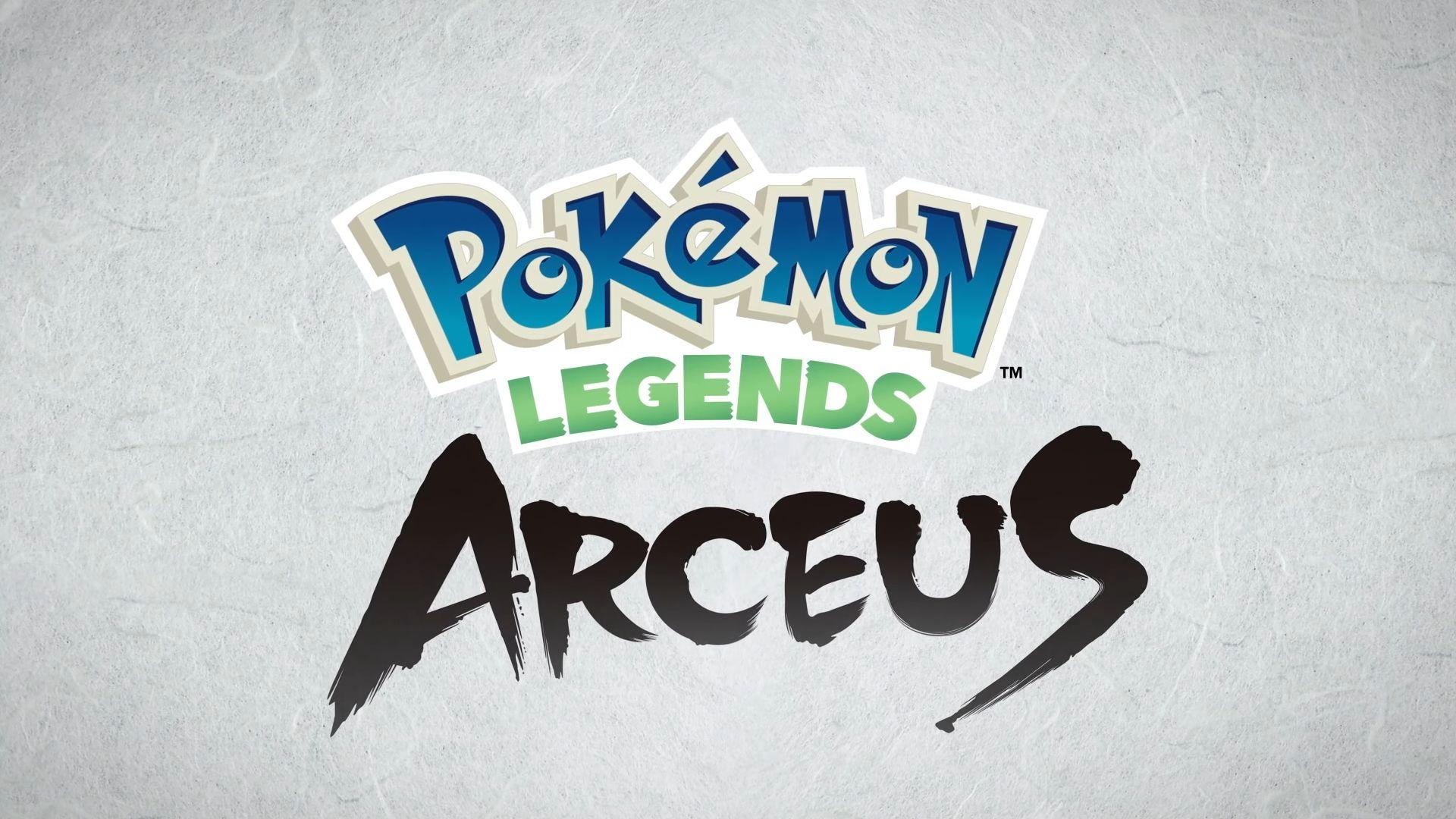 Pokemon Legends Arceus