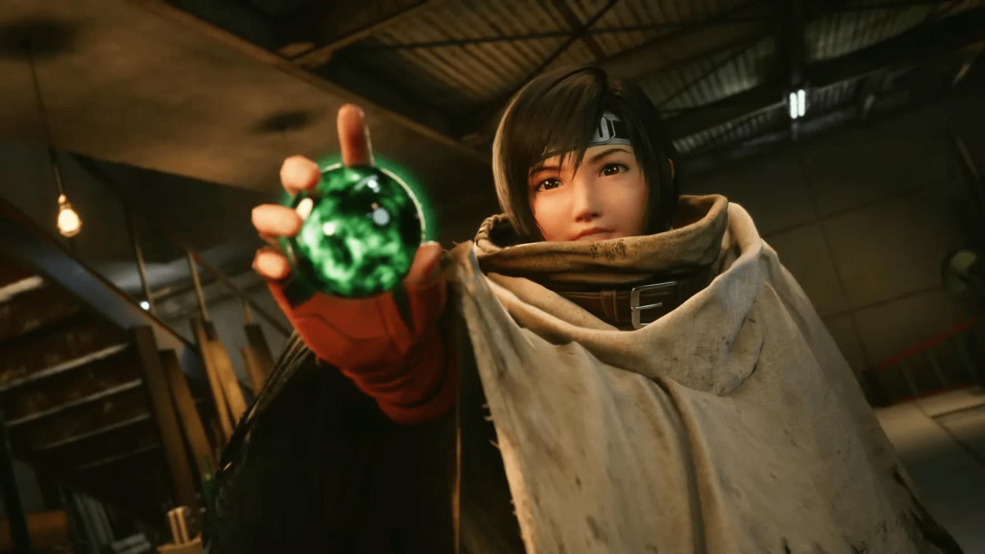 Yuffie Final Fantasy 7 Remake : Intergrade